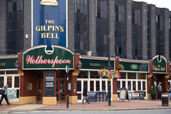 Wetherspoons pub. LONDON - SEPTEMBER 5TH: The exterior of the Gilpin's Bell Pub on September the 5th, 2014, in London, England, UK. Wetherspoon's is the uk's Royalty Free Stock Image