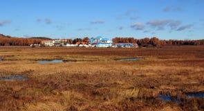 The wetland scenery Stock Image