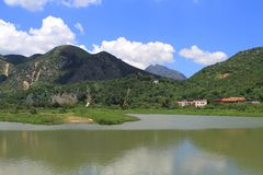 Wetland at Tai O fishing village Stock Photo