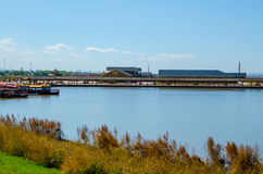 Wetland Wharf Royalty Free Stock Photos