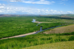 Wetlands in Inner Mongolia Stock Photo