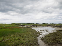 Wetlands at low tide near Maghery, Donegal Stock Photos