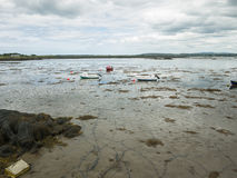 Wetlands at low tide near Maghery, Donegal Royalty Free Stock Photos