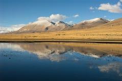 Wetlands in Tibet Royalty Free Stock Photo