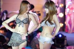 Wettbewerb Badebekleidungs--Dfünfzig-erster Fräuleins International Jiangxi Lizenzfreie Stockfotografie