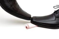 Wettbewerb in der Wirtschaft Lizenzfreie Stockfotos