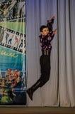Wettbewerb des choreographischen Kollektivtanzes des Lebens in der Stadt von Kondrovo der Kaluga-Region in Russland im Jahre 2016 Stockbilder