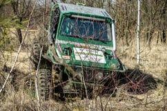 Wettbewerb Penrite H6 4x4 nicht für den Straßenverkehr Lizenzfreie Stockfotos