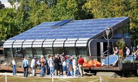 Wettbewerb2009 SolarDecathlon Stockfotos