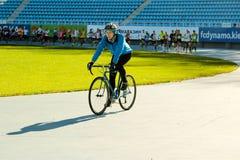 Wettbewerbe auf dem Lauf in Kiew Stockbilder