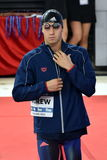 Wettbewerbsfähiger Schwimmer ANDREW Michael USA Stockfoto