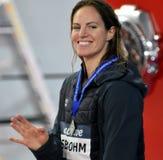 Wettbewerbsfähiger Schwimmer SEEBOHM Emily AUS Lizenzfreies Stockbild