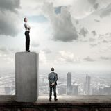 Wettbewerbsfähiges Geschäft Stockfotos