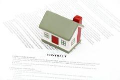 Wettelijk document voor verkoop Stock Foto's