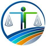 Wettelijk embleem stock illustratie