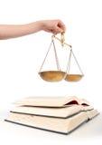 Wettelijk onderwijs Stock Foto's