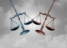 Wettelijk Slag en Proces royalty-vrije illustratie