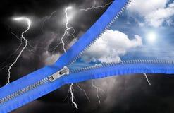 Wetteränderungen Lizenzfreies Stockfoto