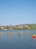 Wetter an der Ruhr,Ruhrgebiet,Germany. Village of Wetter an der Ruhr at Lake Harkort,Ruhrgebiet,Germany Stock Photo