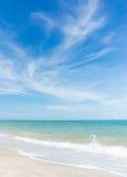 Wetter des Strandes Stockfotos