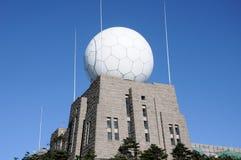 Wetter-Observatorium Stockfoto