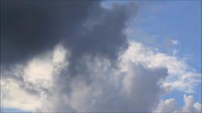 Wetter, Regenwolken, Sturm stock video