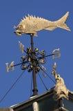 Wetter-Vorflügel - Billingsgate-Fischmarkt - London Stockfotografie