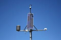 Wetterüberwachungstation Lizenzfreies Stockfoto