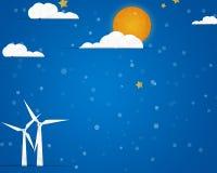 Wettergrußkarte Lizenzfreies Stockfoto