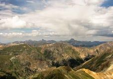 Wetterhorn and Uncompahgre Peak Stock Image