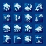 Wetterikonen Stockbild