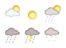 Wetterreport Stockbilder