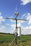 Wetterstation Stockfoto