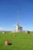 Wetterstation auf Berg Victoria stockfotos