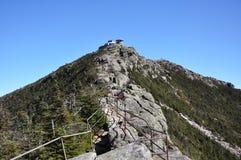 Wetterstation oben auf Whiteface Berg Lizenzfreie Stockfotografie