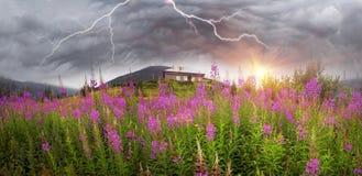 Wetterstation Pozhezheskaya Lizenzfreie Stockbilder