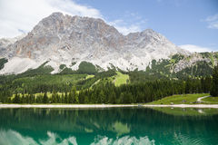 Wetterstein mountain range, Ehrwald, Tyrol Royalty Free Stock Image