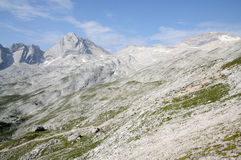 Wetterstein Mountains, Germany Stock Photography