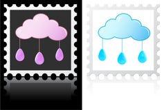 Wetterstempel Stockfotos