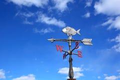 Wettervorflügel Stockfoto