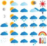 Wettervorhersage Stockbild