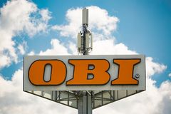 OBI Logo Royalty Free Stock Image