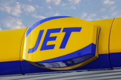 JET logo Royalty Free Stock Image