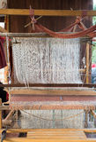 Wevende machine Stock Afbeelding