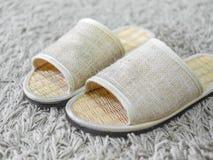 Wevende schoenen stock foto