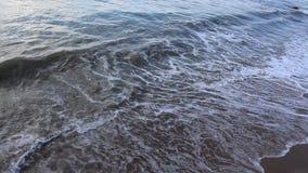 Wevrasta waves. Image was shot in Bulgaria beach stock video