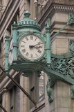 Wewnątrz Punkt zwrotny chicagowski zegar Obraz Stock