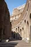wewnętrzna colosseum część Rome Zdjęcie Royalty Free