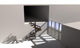 Wewnętrzna dekoracja tło, 3d Obraz Stock