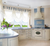 wewnętrzna kuchnia obrazy royalty free